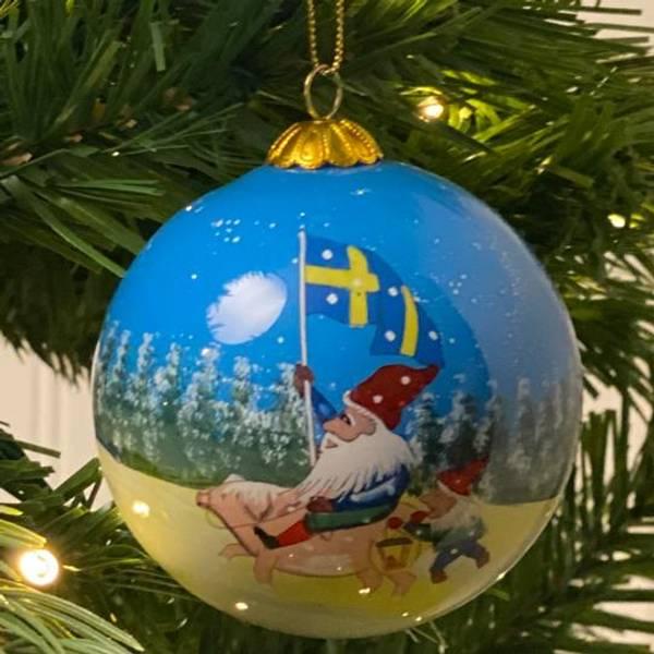 Bilde av Årskulen  JULEN 2021, Svensk flagg