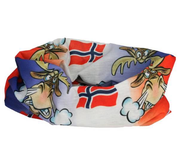 Bilde av Hals med sint elg og flagg