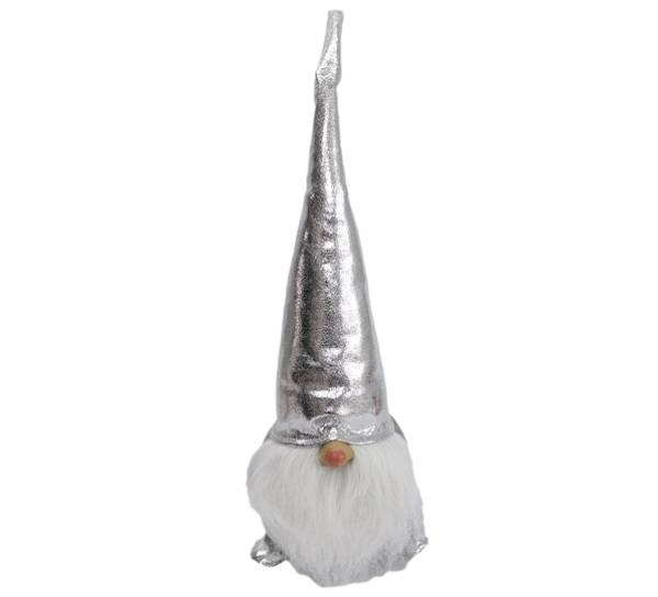 Bilde av Nisse med sølvhatt og sko