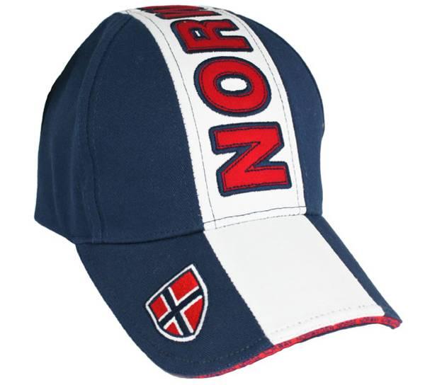 Bilde av Caps blå og hvit Norway og flagg