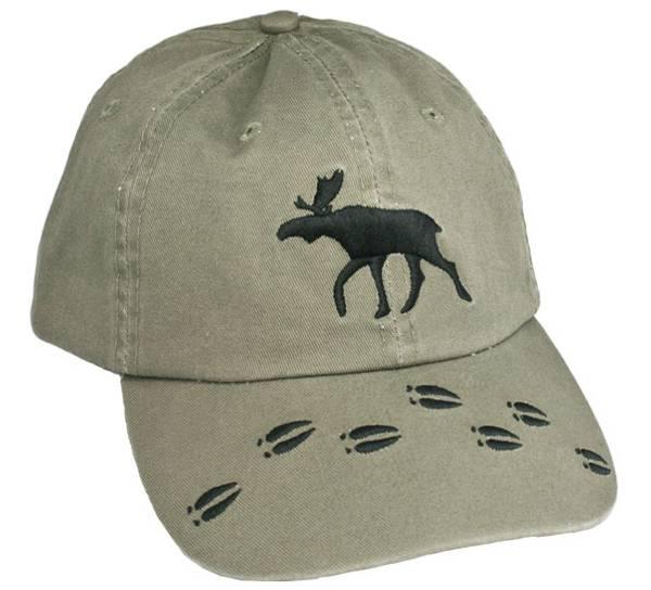 Bilde av Caps grønn med elg og elgspor