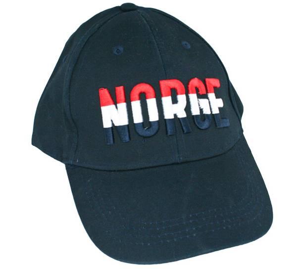 Bilde av Caps blå NORGE i rød, hvit og blå