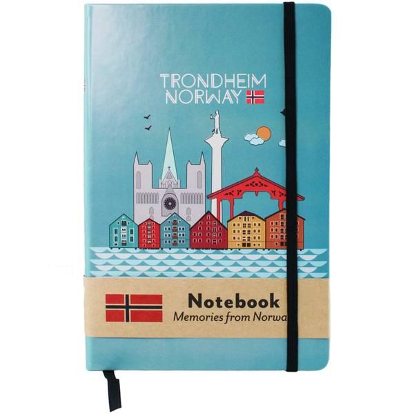 Bilde av Notatbok A5, Trondheim