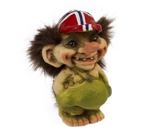 Bilde av Flaggcaps-troll  (Troll nr. 092)