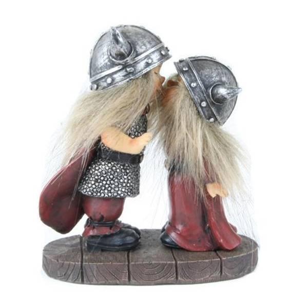 Bilde av Kyssende vikingebarn