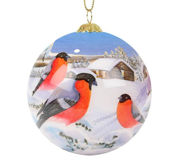 Bilde av Julekule med dompap