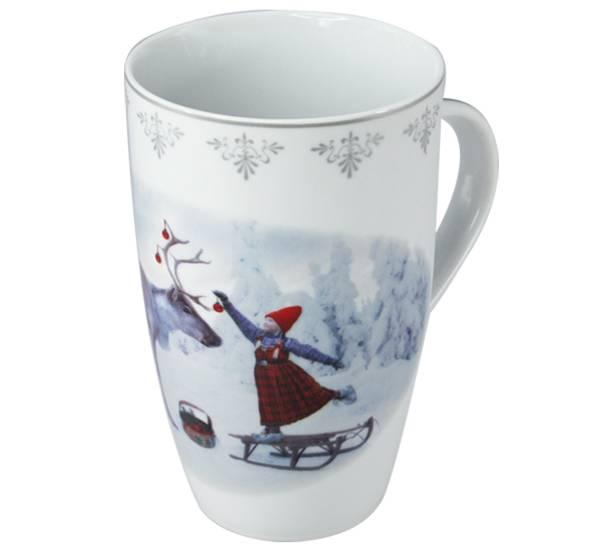 Bilde av Krus, Anja pynter reinsdyret- Juledrømmen nr. 1