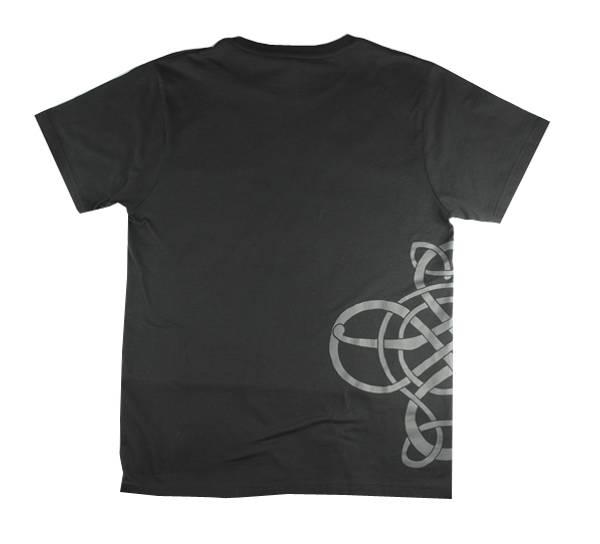 Bilde av T-skjorte. Vikingmønster