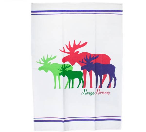 Bilde av Kjøkkenhåndkle med elgmotiv