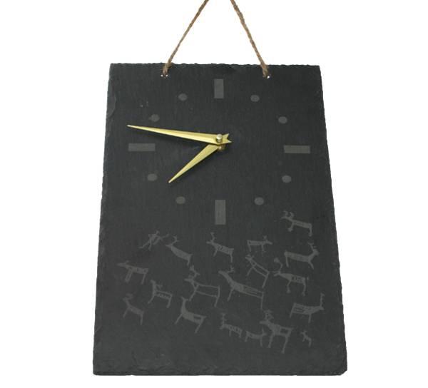 Bilde av Skiferklokke med runer
