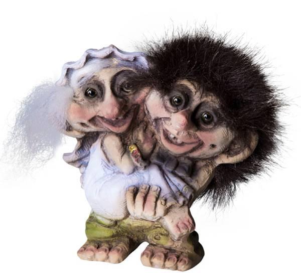 Bilde av Trollbrudepar (Troll nr. 094)
