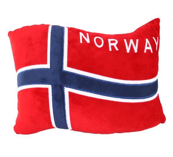 Bilde av Pute, vaiende flagg