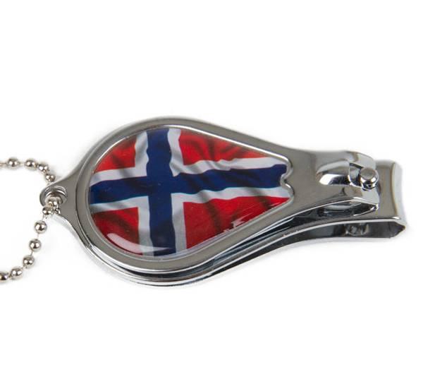 Bilde av Negleklipper/flaskeåpner Norsk flagg