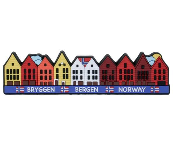 Bilde av Magnet, PVC, Bergen Bryggen