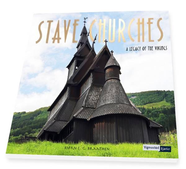 Bilde av Stave Churches - A Legacy of the Vikings